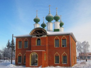 Храм Святой Троицы Комаричи